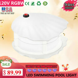 Led Above Ground Swimming Pool Light Great For Soft Sided Pool Magnetic Mounting