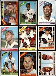 1966 Topps Baseball Low Number Complete Set 2 - Good