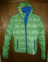 New Eddie Bauer First Ascent 800 Fill Goose Down Puffer Jacket Womenand039s - Size S