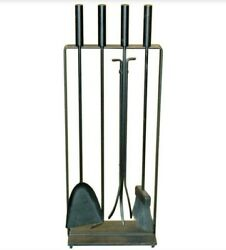 George Nelson For Pilgrim Fireplace Tools Fire Set Mid Century Modern Usa Mcm