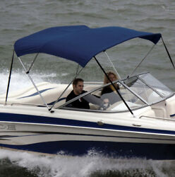 Shademate 80299 Royal Blue 4bow8andrsquol42andrdquohx79-84andrdquow Poly Bimini Top And Boot Only New