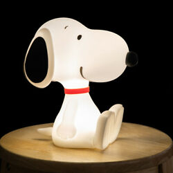Licensed Peanuts Snoopy 3-level Brightness Control Silicone Led Lamp Touchswitch