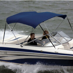 """Shademate 80366 Royal Bimini Top Poly Fabric/bootno Frame4bow,8'l,54""""h,91-96""""w"""