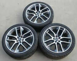 2015 Ford Mustang Gt Premium Factory 20x9 Wheels 20 Rims Used Oem Qty.3