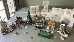 """Huge Lot Of Dept. 56 """"heritage Village Collection"""" Boxed Christmas Series Vgc"""