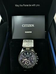 New Citizen Attesa Cc4005-63l Mens Star Wars Limited Model Watch Blue From Japan