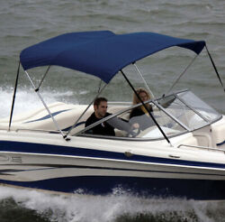 Shademate 80098 Ryl Royal Poly 2-bow Bimini Top Onlyno Boot5and0396l42h54-60w