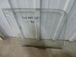 1961-1966 Ford F100 Truck Door Glass Clear Factory Used Driver Side