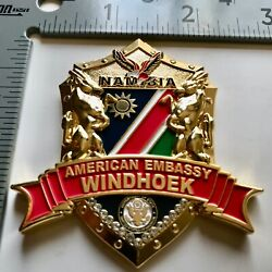 Badge Coin Police Marine Security Guard Detachment Embassy Msg Det Consulate Dss