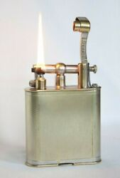 Vintage Dunhill X-large Lift Arm Table Lighter In Working Condition