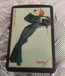 The Petty Girl Satin Doll Pinup Art 1999 Limited Edition Zippo Lighter Series Ii