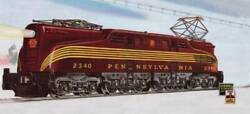Lionel 6-38303 Prr Gg-1 Tuscan 2340 With 5 Stripes- Conventional Classics Ex