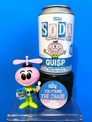 Funko Soda Can Quisp Chase With Cereal Box Le 1600 Quake And Quisp Cereal