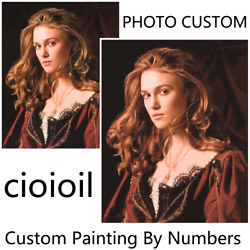 Personality Photo Custom Diy Oil Paint Paintings By Numbers Customized Drawing D