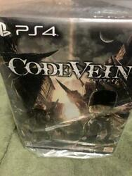Code Vein Ps4 Playstation4 Sony Game With Figurine In Box Limited Mint