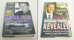 Kevin Trudeau Lot Of Four Hardcover Books Natural Cures, Weight Loss Cure, Debt