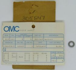 New Omc Outboard Marine Corp Boat Washer Part No. 305847