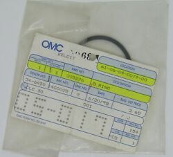 New Omc Outboard Marine Corp Boat Gearcase O-ring Part No. 305276