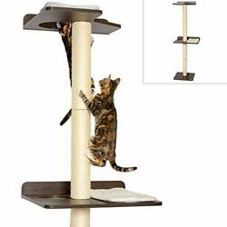 Petfusion Ultimate Cat Climbing Tower And Activity Tree. 24 X 20.8 X 76.8 Inche...