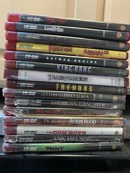 Lot Of 15 Movies Hd Dvd Hd-dvd Sealed And Used Read Titles In Photo