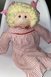 1979 Cabbage Patch Soft Sculpture Little People Hand Signed W/ Certificate