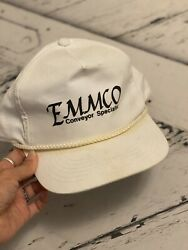 Emmco Conveyor Specialist Hat Snap Back White