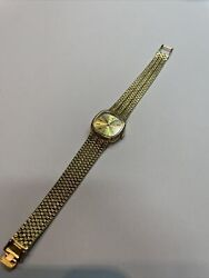 Ladies Rolex Cellini Orchid Dress Watch 18kt Yellow Gold