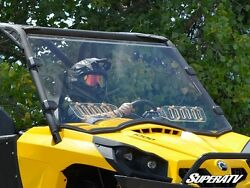2011-2020 Can-am Commander Scratch Resistant Vented Full Windshield