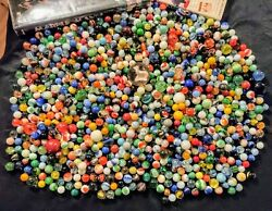 Selling Dad's Old, Vintage, Antique, Collectible Marbles -lot 5 New Photos