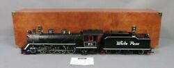 Lgb 21832 Limited Edition G Scale Brass White Pass Mikado 73 W/ Wooden Case Ex