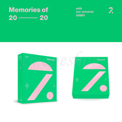 Official [ Bts Memories Of 2020 ] Dvd / Blu-ray With Pre-order Gift - Dhl Fedex