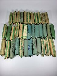 1946-1964 Roosevelt Dimes - 5 Fv 90 Silver 50 Count Roll Nice