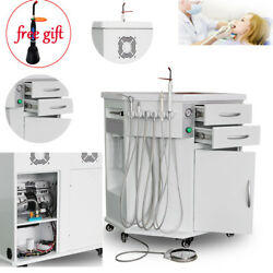 Dental All In One Delivery System Cart Unit+curing Light+scaler+triplex Syring