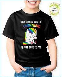 A Fun Thing To Do In The Morning Is Not Talk To Me Shirt Coworker Unisex Tshirt