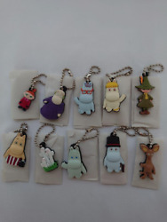 Moomin Keychains 10 Types Coca-cola And Convenience Store Collaboration Products