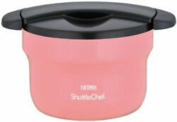 Thermos Vacuum Thermal Insulation Cooker Shuttle Chef 1.6l Peach Kbf-1600 Pch