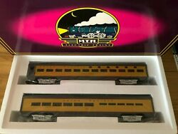 Mth 70' Scale Aluminum Sleeper/diner Union Pacific Set O Gauge Mt-6606 New