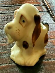 Droopy Hound Dog Small Ceramic Creamer Vintage MCM Made In Japan Signed