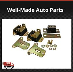 Energy Suspension Engineandtransmision Mounts 3.1122g For 68-73 Chevelle Camaro