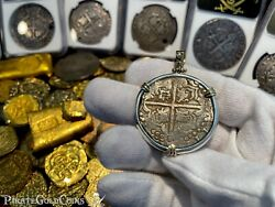 Bolivia 8 Reales 1629 Panama Hoard Jewelry Treasure Necklace Pirate Gold Coin