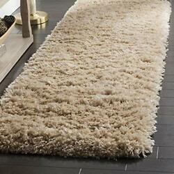 Safavieh Polar Shag Collection Psg800a 3-inch Extra Thick Runner 2and0393 X 14and039 R...