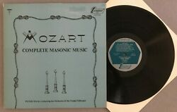 U557 Mozart Complete Masonic Music Maag 2lp Turnabout Tv 34213-14 Stereo