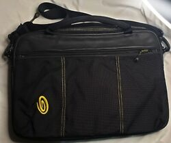 Timbuk2 Padded Laptop Case Bag Briefcase Over Shoulder Heavy Nylon Lined Rugged $24.97