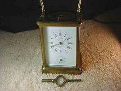 Vintage French Land039epee Grande Striking Repeater Alarm Carriage Clock-magnificent