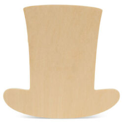 Unfinished Wooden Uncle Sam Hat Cutout, 8, Summer Crafts   Woodpeckers