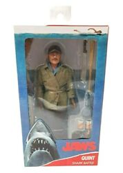 """NECA JAWS Sam Quint 8"""" Clothed Action Figure Brand New in Box $53.95"""