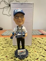 ❄️ Kent Andlsquoicemanandrsquo Meyer ❄️ Milwaukee Brewers Bobblehead Limited Holy Grail 📈