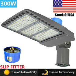 Led Shoebox Lights 300w With Dusk To Dawn Photocell,commercial Led Street Lights