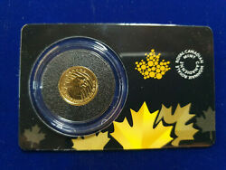 🌟2016 Canada 1/10 Oz Gold Growling Cougar .99999 In Assay 20 Coin Rcm