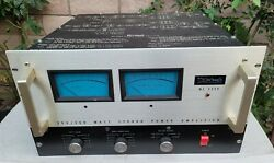 Vintage Mcintosh Mc2300 Stereo Amplifier Amp Works As Is Read